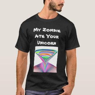 Camiseta Mi zombi comió su unicornio