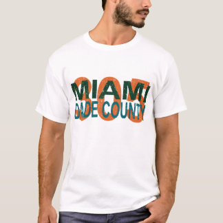 Camiseta Miami, dade, 305, la Florida, I-95, vicio, playa,