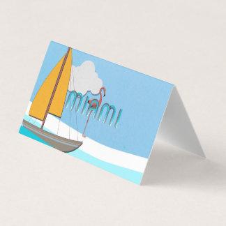 CAMISETA Miami Tarjeta De Visita