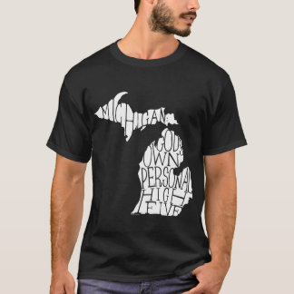 Camiseta Michigan: Los altos cinco de dios