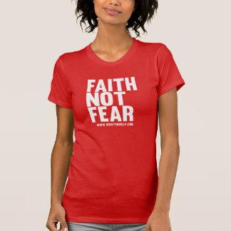 Camiseta Miedo de la fe no