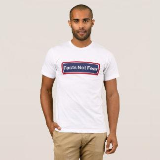 Camiseta Miedo de los hechos no