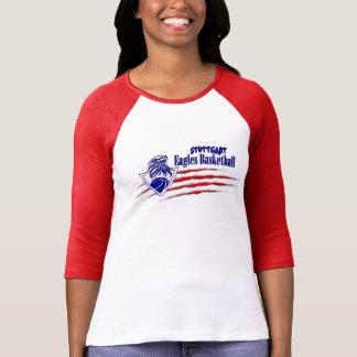 Camiseta Miedo de Stuttgart Eagles la señora 3/4 manga T de
