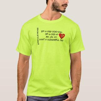 Camiseta Miembro de club de la cremallera