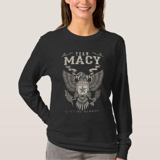 Camiseta Miembro del curso de la vida de MACY del equipo.