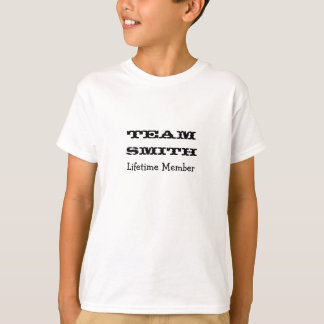 Camiseta Miembro del curso de la vida de Smith del equipo -