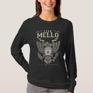 Camiseta Miembro del curso de la vida del equipo MELLO.