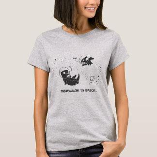 Camiseta Mientras tanto en el espacio - gris