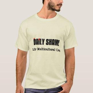 Camiseta Mierda multicultural del zurdo