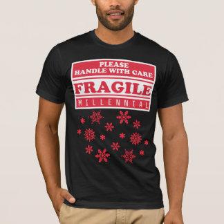 Camiseta Milenarios frágiles, dirigen con los copos de