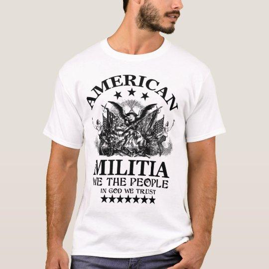 Camiseta Milicia americana