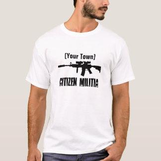 Camiseta Milicia de la ciudad natal (personalizable)
