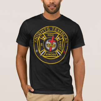 Camiseta militar de Templar Commandery de los