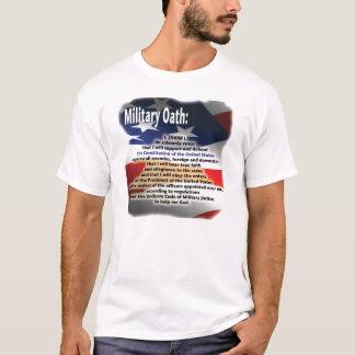 Camiseta militar del juramento