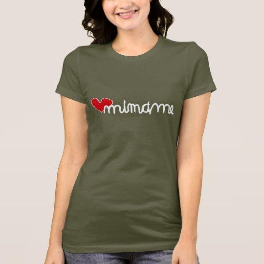 Camiseta Mimame