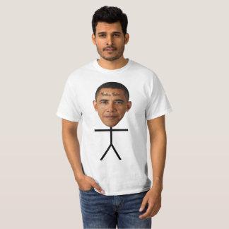 Camiseta Mindless Stickman of Barack Obama
