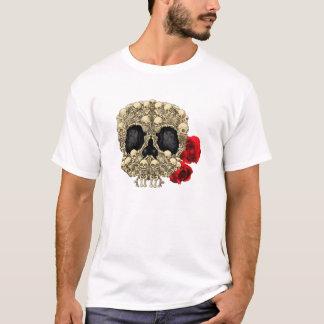 Camiseta Mini cráneo del azúcar de los esqueletos