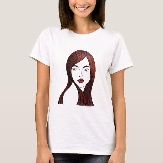 Camiseta mirada de soslayo
