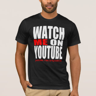 Camiseta Míreme en YouTube (moderno)