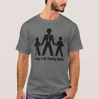 Camiseta Mis amores de la familia