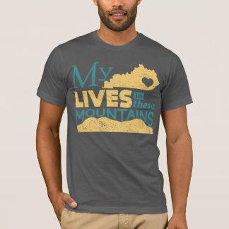 Camiseta Mis vidas del corazón en estas montañas