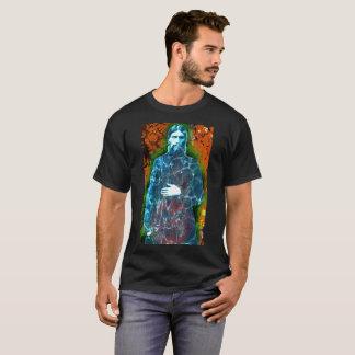 Camiseta Místico enojado del monje de la historia rusa de