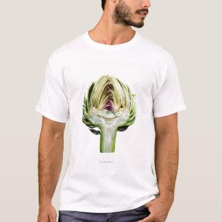 Camiseta Mitad de la alcachofa de globo cortada