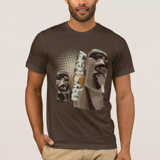Camiseta Moai