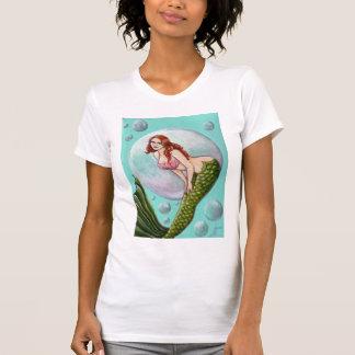 Camiseta modela de la sirena