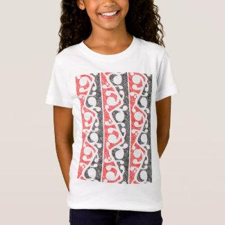 Camiseta Modelo apenado Kowhaiwhai maorí