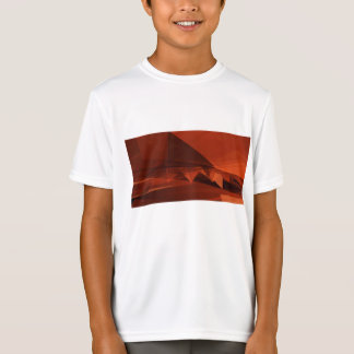 Camiseta Modelo artístico del diseño polivinílico bajo