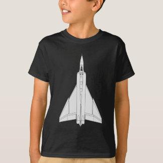 Camiseta Modelo de la flecha de Avro