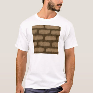 Camiseta Modelo de los ladrillos de Brown