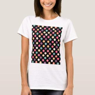 Camiseta Modelo de puntos precioso XII