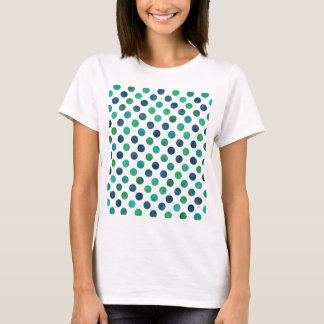 Camiseta Modelo de puntos precioso XIV