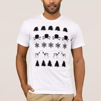Camiseta Modelo del invierno