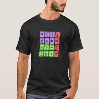 Camiseta Modelo estándar de partículas elementales