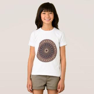 Camiseta Modelo floral étnico abstracto colorido de la