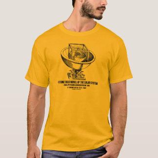 Camiseta Modelo platónico de la Sistema Solar Mysterium