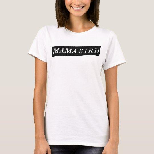 Camiseta moderna de la mamá (mamá Bird)