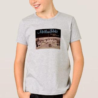 Camiseta moderna de los mediados de siglo del