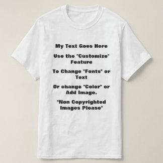 Camiseta Modifiqúeme para requisitos particulares