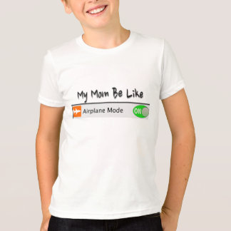 Camiseta Modo del aeroplano