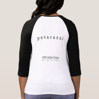 "Camiseta mojada de Fotos ""Petarazzi"" de la nariz"
