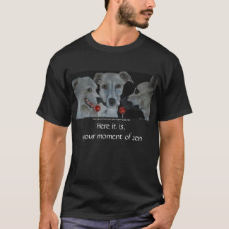 Camiseta Momento del arte T del zen
