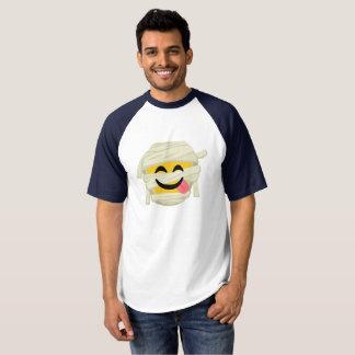 Camiseta Momia divertida Bleh Emoji Halloween