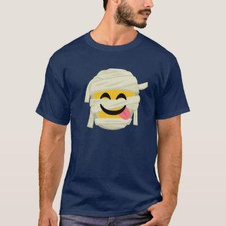 Camiseta Momia divertida Bleh Emoji Halloween Halloween