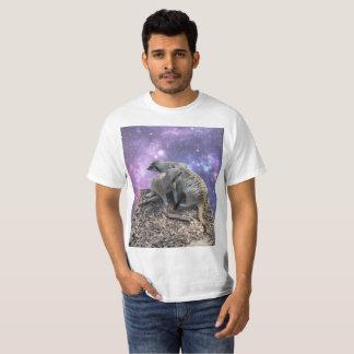 Camiseta Momia Meerkat y su perrito,