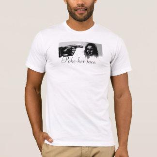 Camiseta MONA, Empuje-ella cara