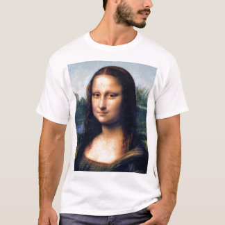 Camiseta Mona Lisa de Leonardo da Vinci